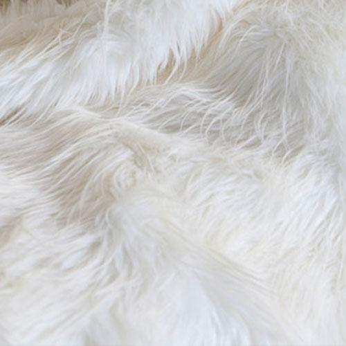polar cub wit sprei imitatie bont
