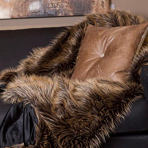 porcupine imitatie bont sprei