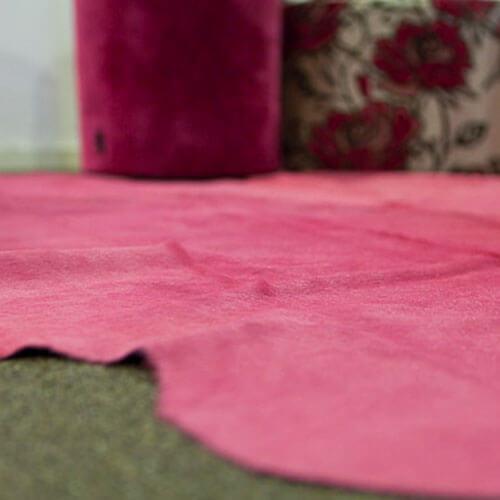 roze huid close up