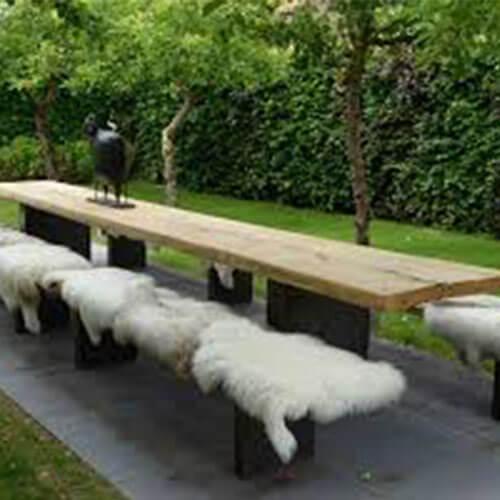 schapenvacht voor buiten