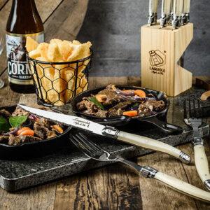 premium line laguiole style de vie steak mes