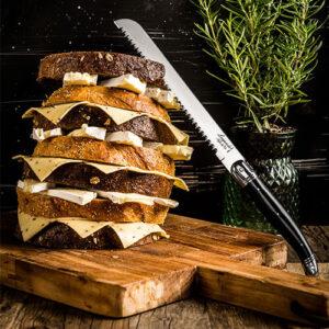 broodsnijden mes zwart