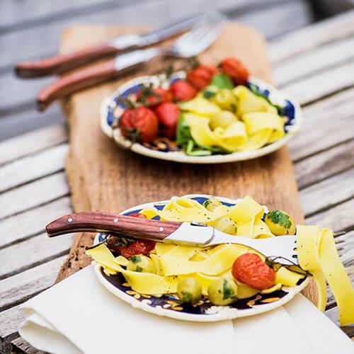 steak vork pasta vork laguiole style de vie