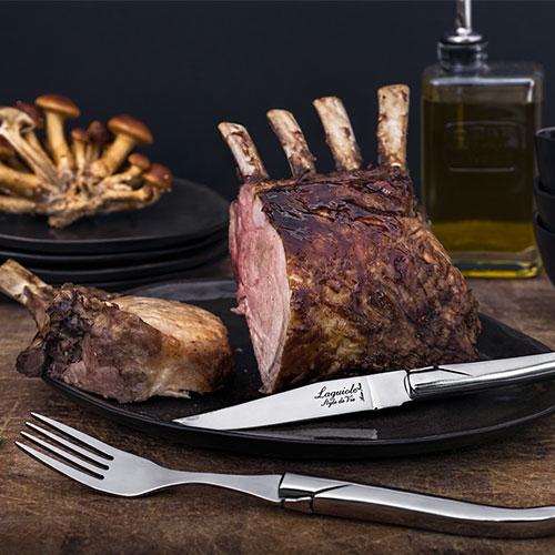 steakmes laguiole style de vie en vork