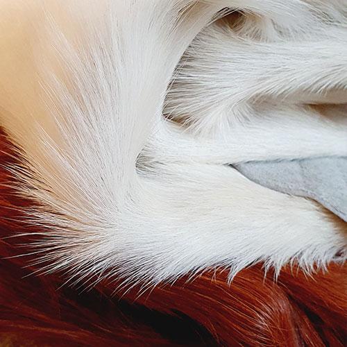 bruin wit runderhuid interleer exclusief