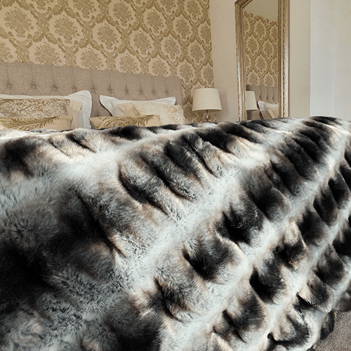 luxe fleece plaid