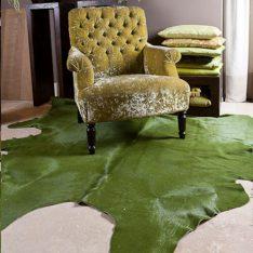 khaki green solid skin supplied